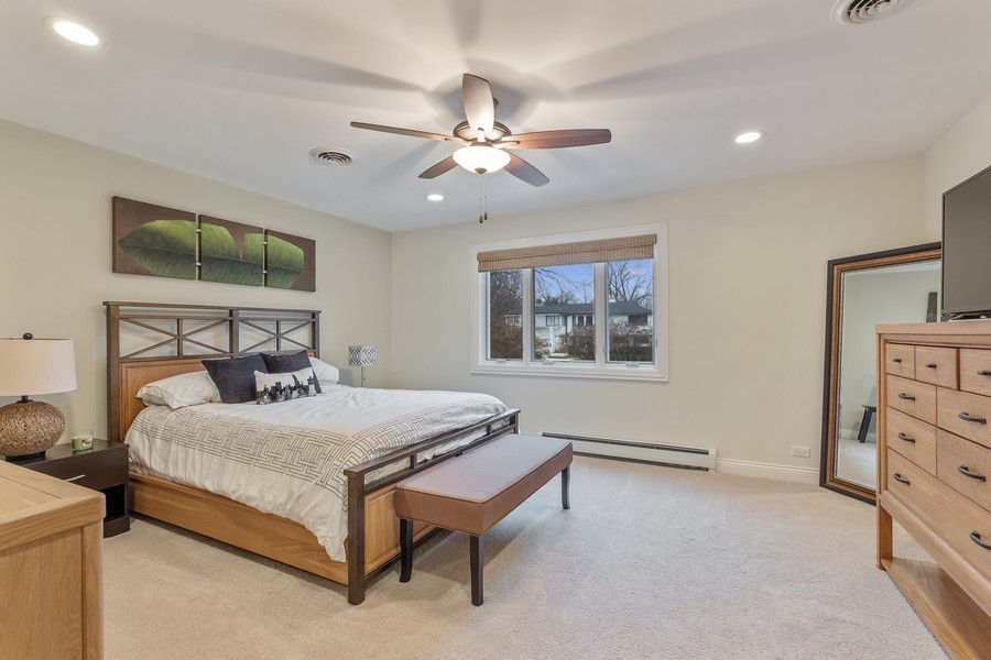 Real Estate Photography - 1136 Skokie Ridge Dr, Glencoe, IL, 60022 - 4th Bedroom