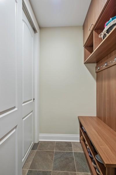 Real Estate Photography - 1136 Skokie Ridge Dr, Glencoe, IL, 60022 - Mudroom