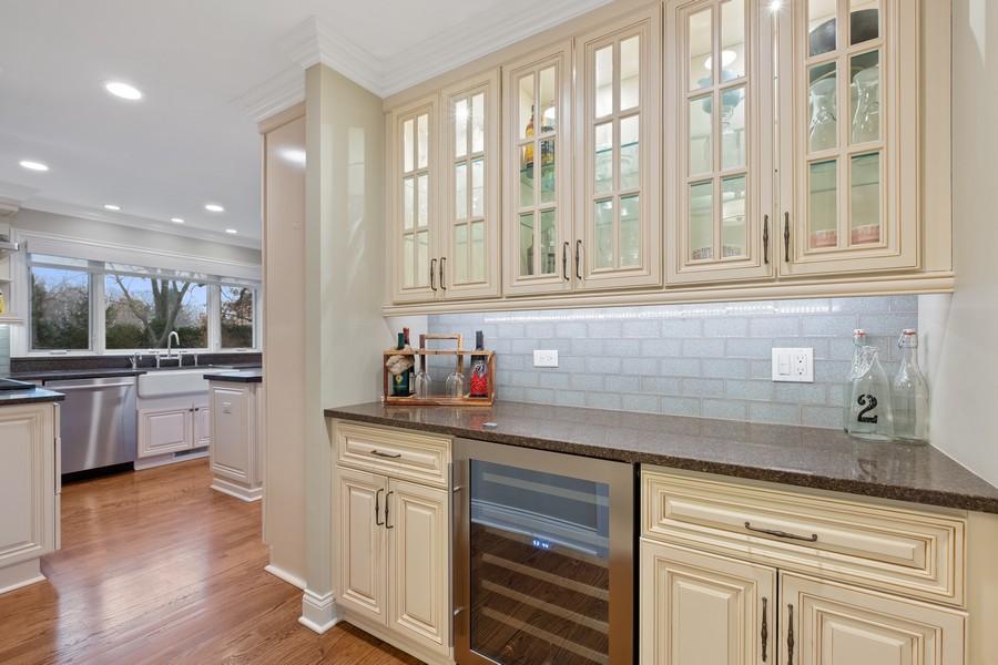 Real Estate Photography - 1136 Skokie Ridge Dr, Glencoe, IL, 60022 - Butler's pantry