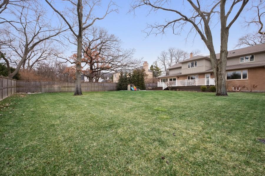 Real Estate Photography - 1136 Skokie Ridge Dr, Glencoe, IL, 60022 - Back Yard