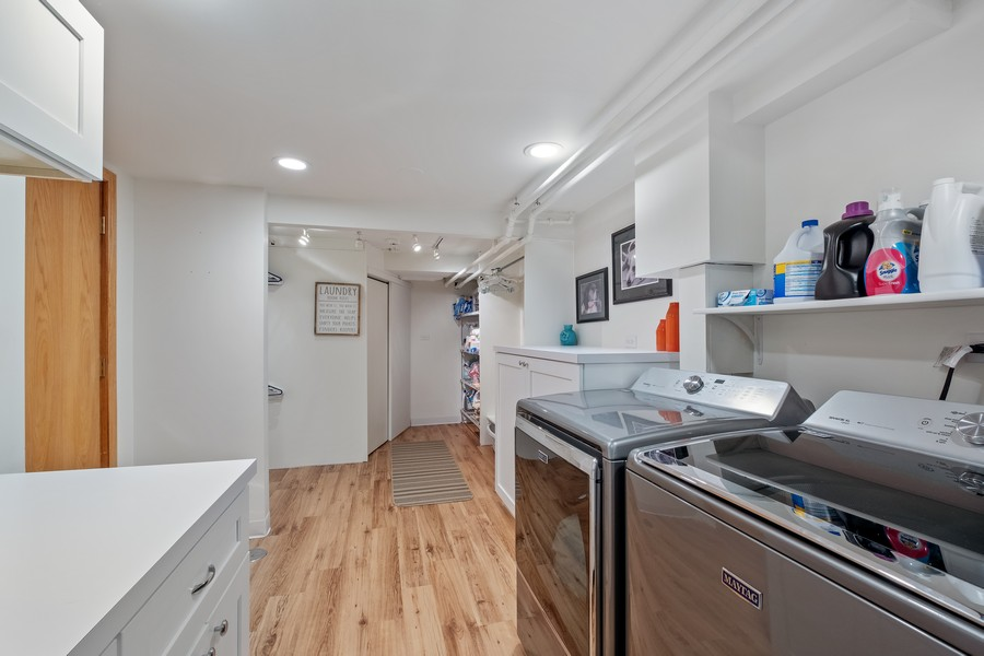 Real Estate Photography - 1136 Skokie Ridge Dr, Glencoe, IL, 60022 - Laundry Room