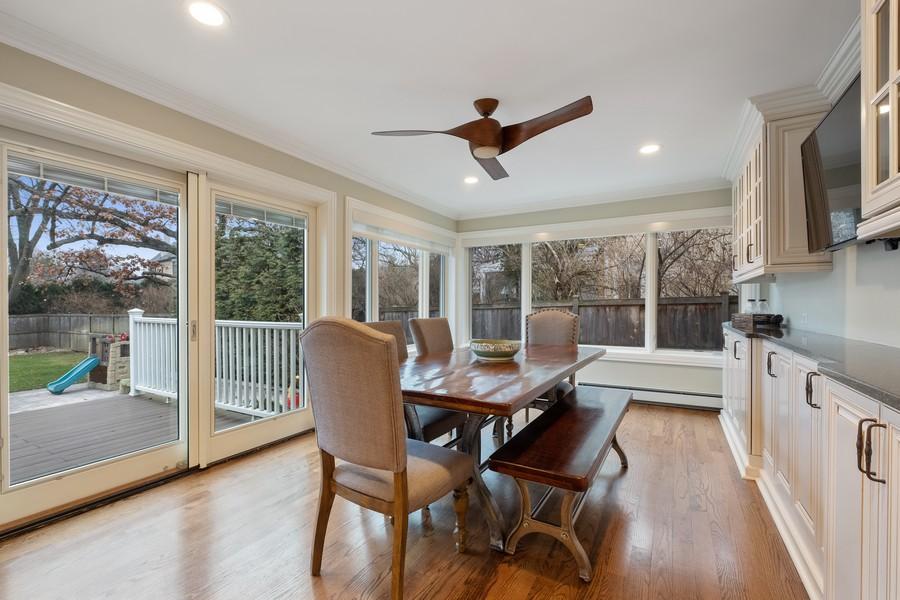Real Estate Photography - 1136 Skokie Ridge Dr, Glencoe, IL, 60022 - Breakfast Area