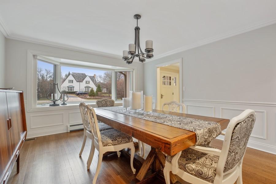 Real Estate Photography - 1136 Skokie Ridge Dr, Glencoe, IL, 60022 - Dining Room