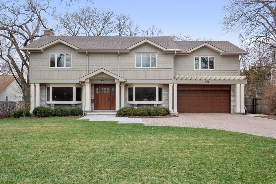 Real Estate Photography - 1136 Skokie Ridge Dr, Glencoe, IL, 60022 - Front View