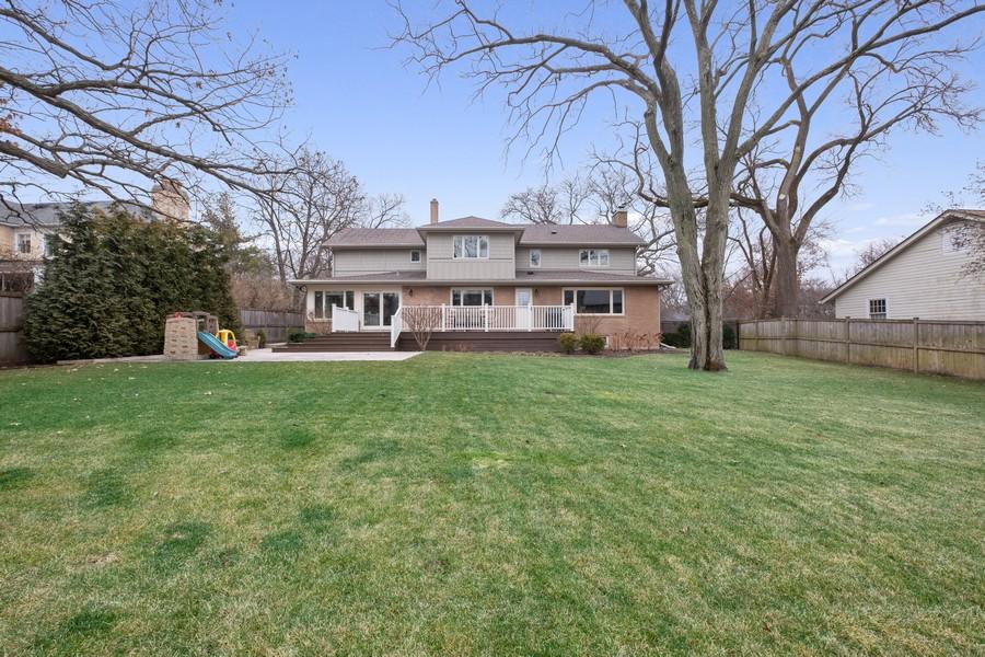 Real Estate Photography - 1136 Skokie Ridge Dr, Glencoe, IL, 60022 - Rear View