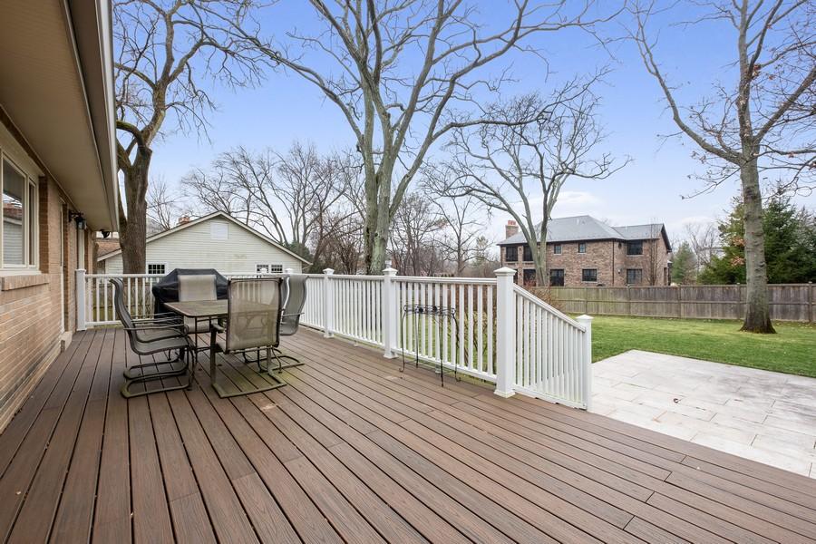 Real Estate Photography - 1136 Skokie Ridge Dr, Glencoe, IL, 60022 - Deck