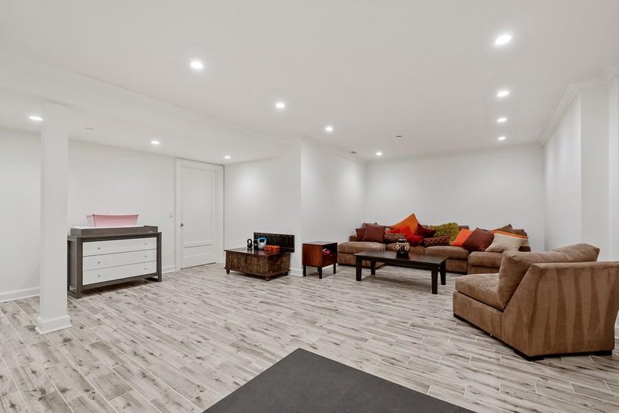 Real Estate Photography - 905 Oak Dr., Glencoe, IL, 60022 - Recreational Room
