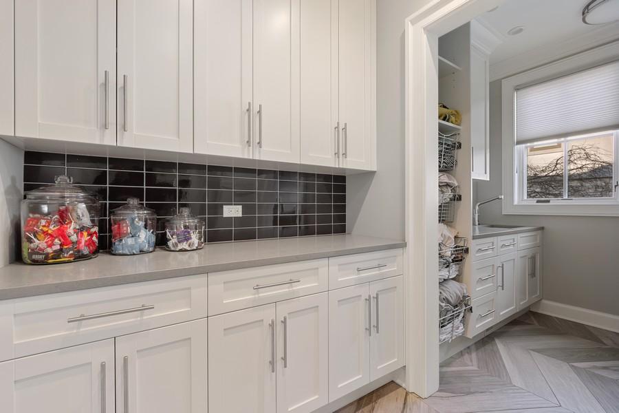 Real Estate Photography - 905 Oak Dr., Glencoe, IL, 60022 - Laundry Room