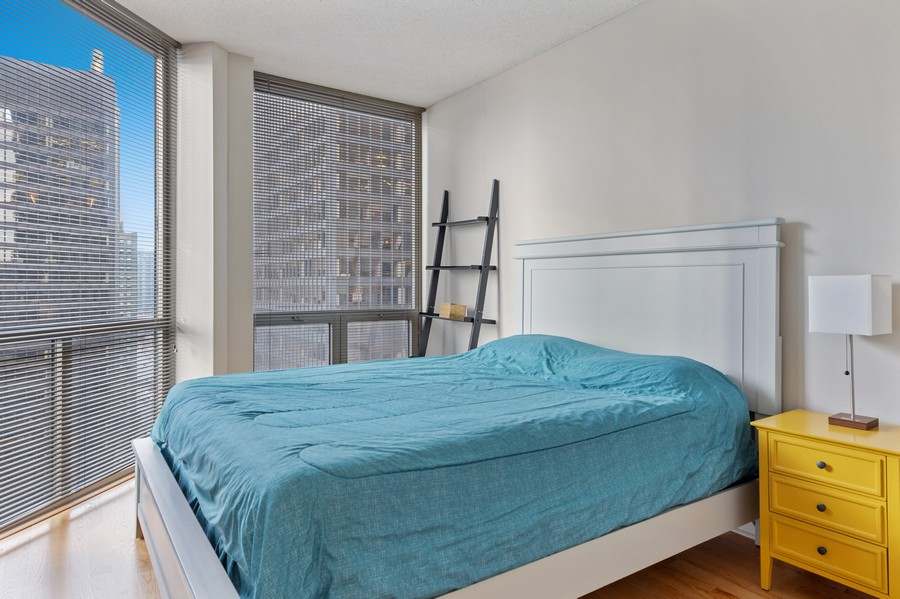 Real Estate Photography - 222 N Columbus, Unit 1802, Chicago, IL, 60601 -