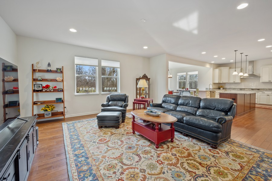 Real Estate Photography - 114 Flint Creek Court, Hawthorn Woods, IL, 60047 - Family Room