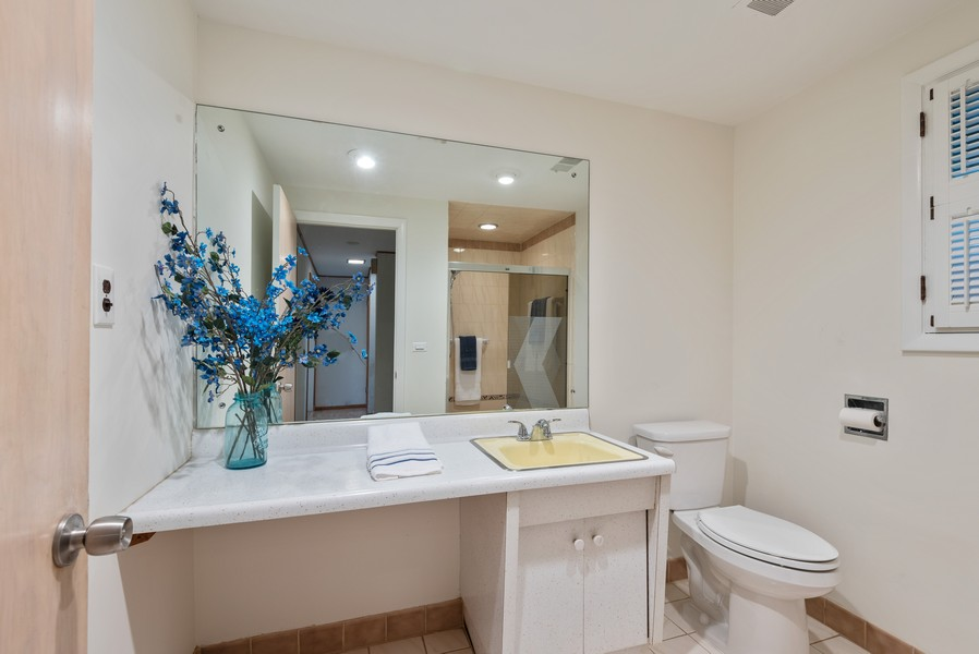 Real Estate Photography - 230 Heather Lane, Wilmette, IL, 60091 - Bathroom