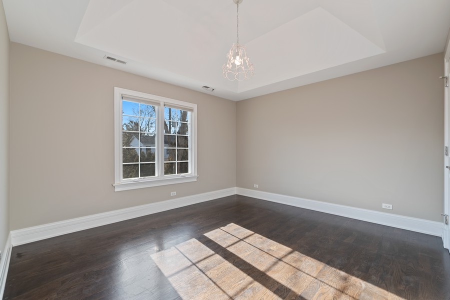 Real Estate Photography - 1001 Woodlawn Road, Glenview, IL, 60025 - 2nd Bedroom