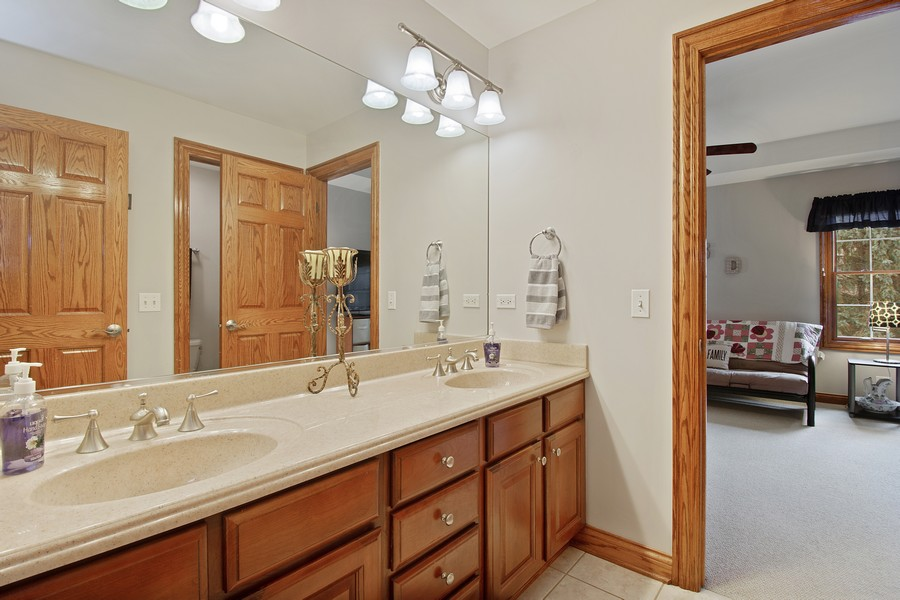 Real Estate Photography - 745 John Ct., Lake Zurich, IL, 60047 - 3rd Bathroom