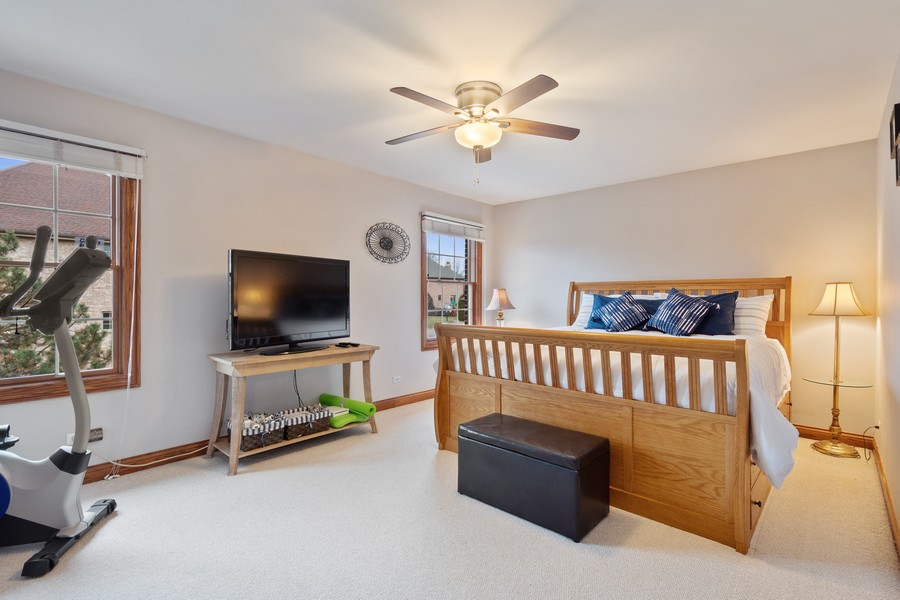 Real Estate Photography - 745 John Ct., Lake Zurich, IL, 60047 - 3rd Bedroom