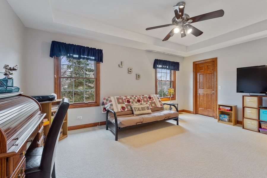 Real Estate Photography - 745 John Ct., Lake Zurich, IL, 60047 - 4th Bedroom