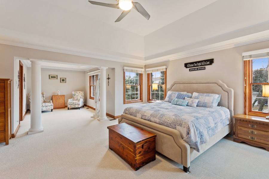 Real Estate Photography - 745 John Ct., Lake Zurich, IL, 60047 - Master Bedroom