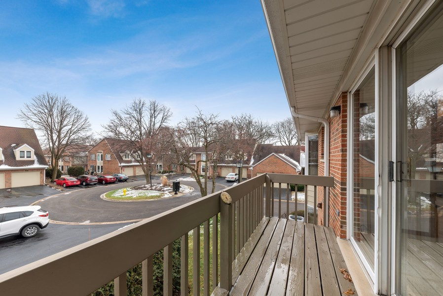 Real Estate Photography - 1663 N. Belmont Ct., Arlington Hts., IL, 60004 - Balcony