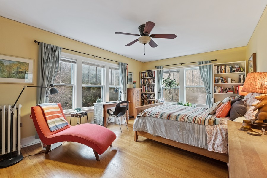 Real Estate Photography - 930 Michigan, Evanston, IL, 60202 - Coach House Bedroom 1