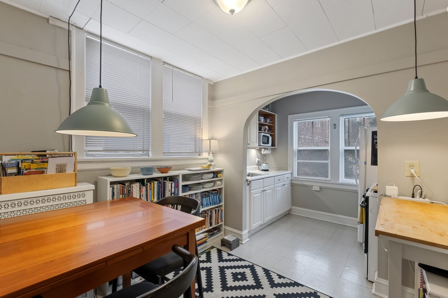 Real Estate Photography - 930 Michigan, Evanston, IL, 60202 - Coach House Eat In Kitchen