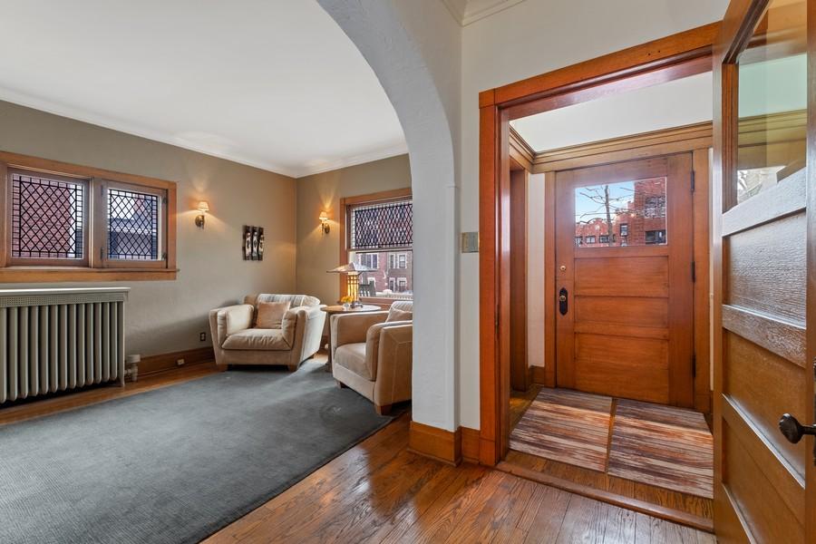 Real Estate Photography - 930 Michigan, Evanston, IL, 60202 - Foyer