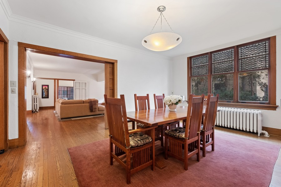 Real Estate Photography - 930 Michigan, Evanston, IL, 60202 - Dining Room