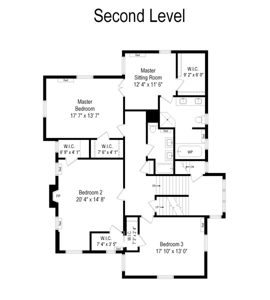 Real Estate Photography - 930 Michigan, Evanston, IL, 60202 - Floor Plan