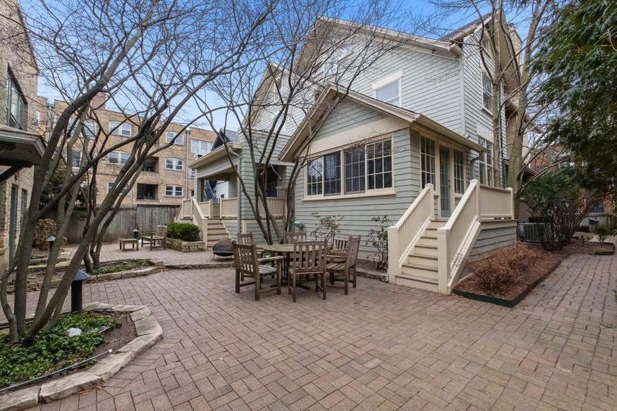 Real Estate Photography - 930 Michigan, Evanston, IL, 60202 - Rear View