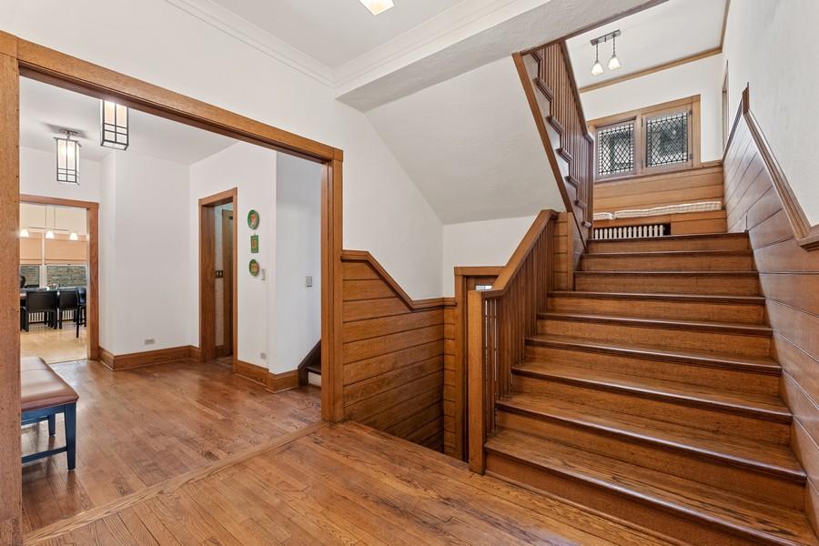 Real Estate Photography - 930 Michigan, Evanston, IL, 60202 - Staircase