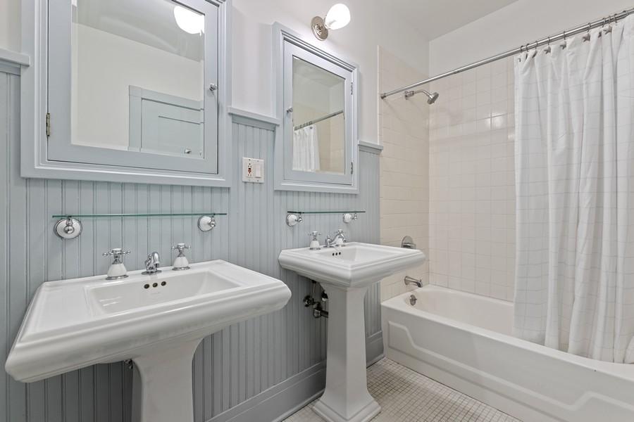 Real Estate Photography - 930 Michigan, Evanston, IL, 60202 - 2nd Bathroom
