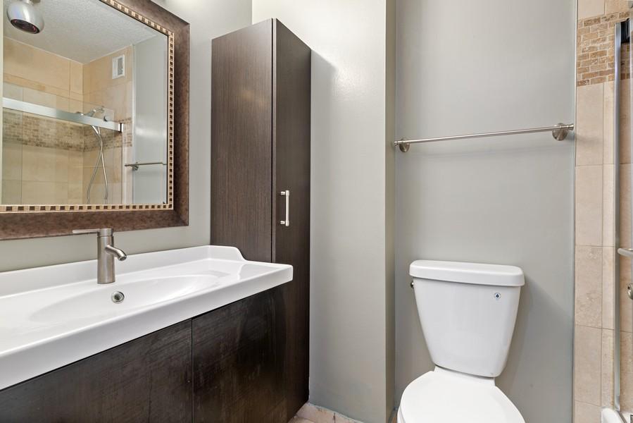 Real Estate Photography - 3925 Triumera Dr 12B, Glenview, IL, 60025 - Bathroom