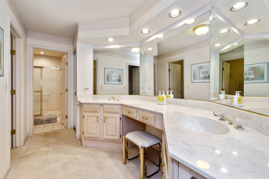 Real Estate Photography - 117 Cornell, Glenview, IL, 60026 - Master Dressing Area