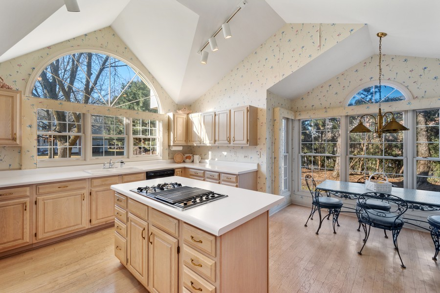 Real Estate Photography - 117 Cornell, Glenview, IL, 60026 - Kitchen / Breakfast Room