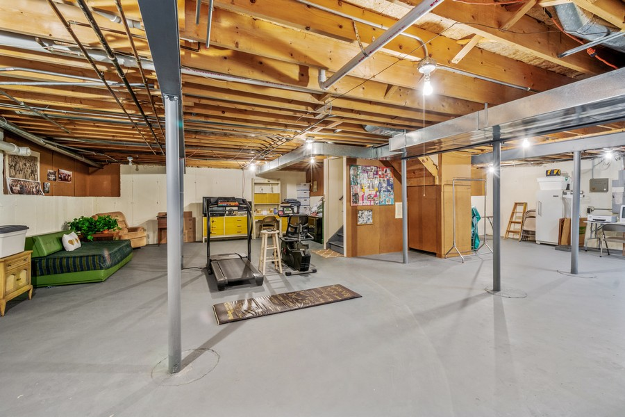 Real Estate Photography - 117 Cornell, Glenview, IL, 60026 - Basement
