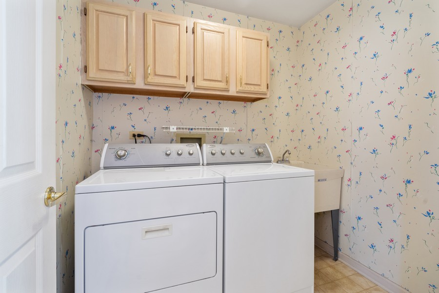 Real Estate Photography - 117 Cornell, Glenview, IL, 60026 - First Floor Laundry Room
