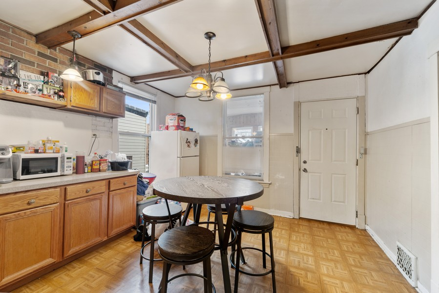 Real Estate Photography - 3832 North Central Park, Chicago, IL, 60618 - Second Floor Kitchen