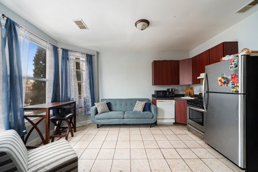 Real Estate Photography - 2706 N. Ridgeway, Chicago, IL, 60625 - Second Floor Living Areas
