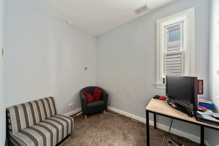 Real Estate Photography - 2706 N. Ridgeway, Chicago, IL, 60625 - Second Floor Bedroom (2 of 3)
