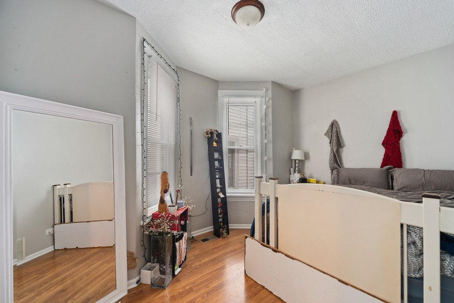 Real Estate Photography - 2706 N. Ridgeway, Chicago, IL, 60625 - First Floor Bedroom (1 of 3)