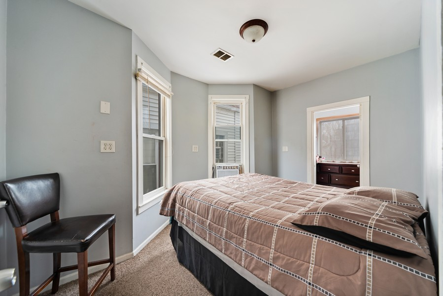Real Estate Photography - 2706 N. Ridgeway, Chicago, IL, 60625 - Second Floor Bedroom (1 of 3)