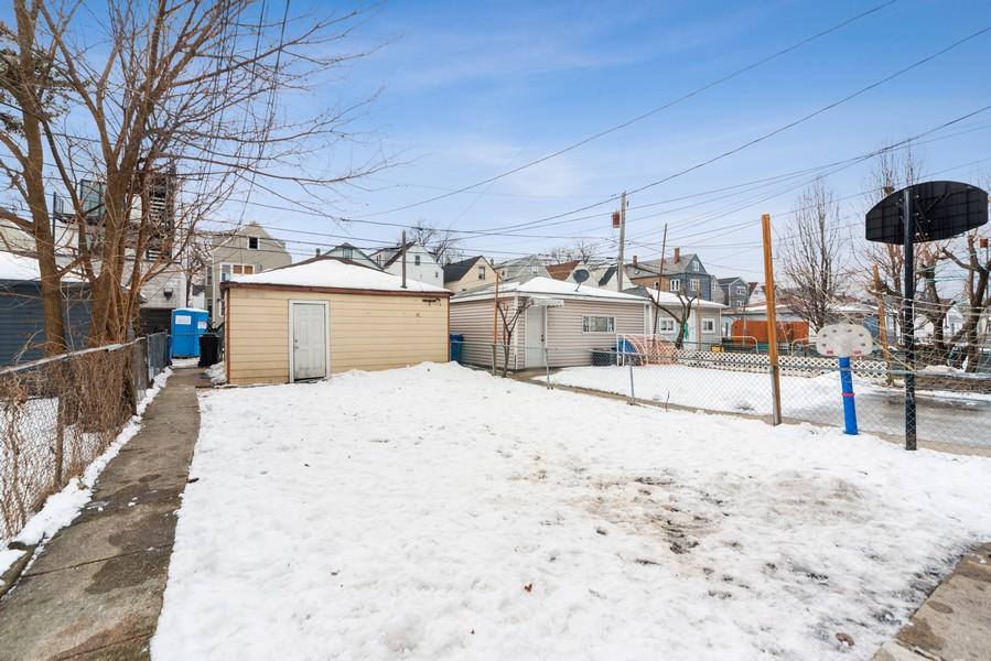 Real Estate Photography - 2706 N. Ridgeway, Chicago, IL, 60625 - Back Yard