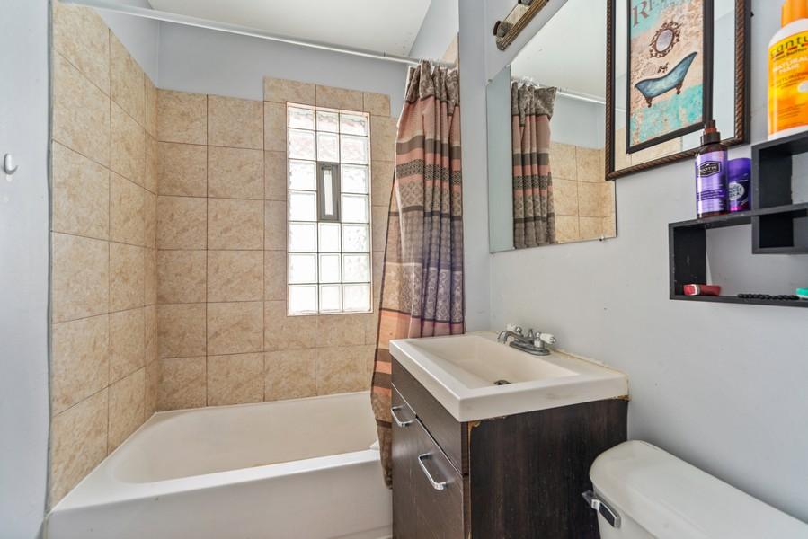 Real Estate Photography - 2706 N. Ridgeway, Chicago, IL, 60625 - Second Floor Bathroom