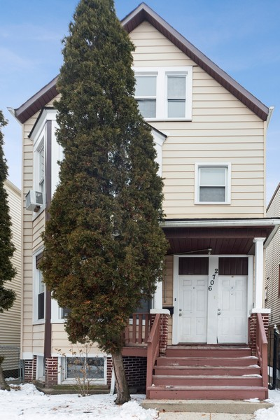 Real Estate Photography - 2706 N. Ridgeway, Chicago, IL, 60625 - Front View