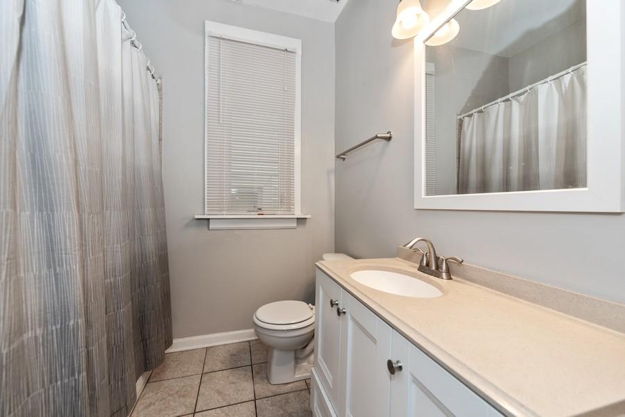 Real Estate Photography - 2706 N. Ridgeway, Chicago, IL, 60625 - First Floor Bath