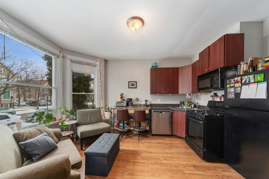 Real Estate Photography - 2706 N. Ridgeway, Chicago, IL, 60625 - First Floor Living Areas