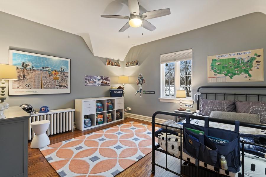 Real Estate Photography - 2501 Ridgeway Avenue, Evanston, IL, 60201 - 2nd Bedroom