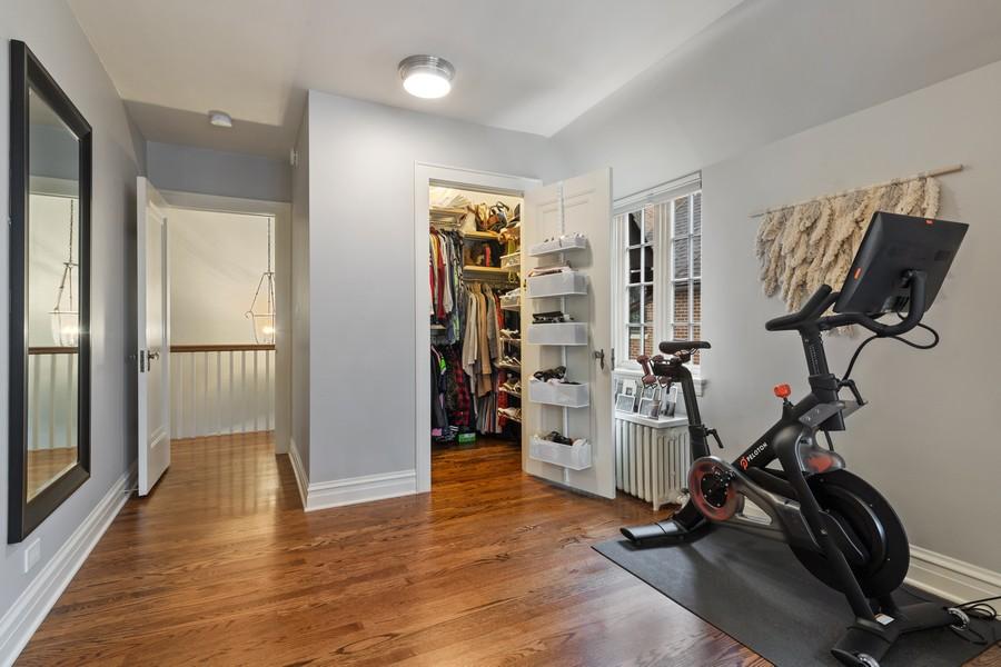 Real Estate Photography - 2501 Ridgeway Avenue, Evanston, IL, 60201 - Master Bedroom