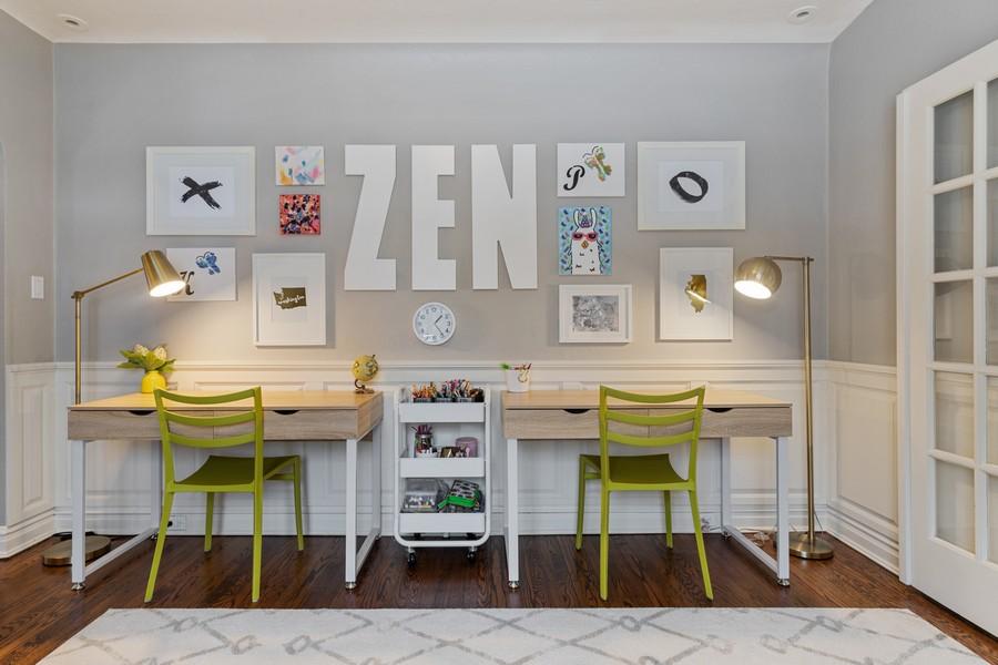 Real Estate Photography - 2501 Ridgeway Avenue, Evanston, IL, 60201 - Sitting Room