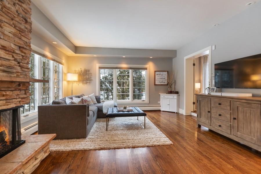 Real Estate Photography - 2501 Ridgeway Avenue, Evanston, IL, 60201 - Family Room