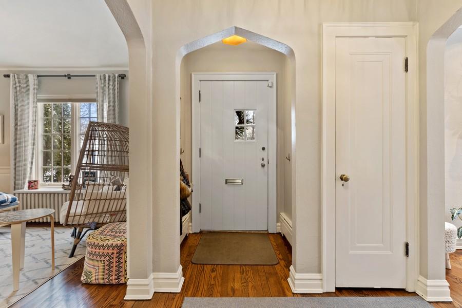 Real Estate Photography - 2501 Ridgeway Avenue, Evanston, IL, 60201 - Entrance