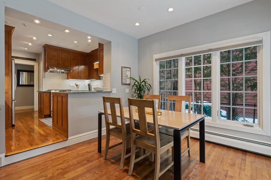 Real Estate Photography - 2501 Ridgeway Avenue, Evanston, IL, 60201 - Breakfast Area